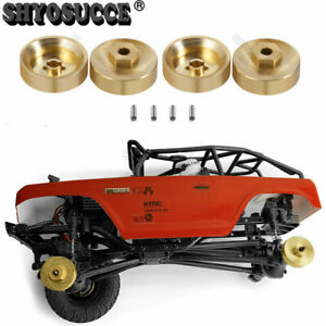 For AXIAL SCX24 AXI90081 1:24 RC Crawler 5mm Heavy duty Brass Hex Adaptor 1//2set