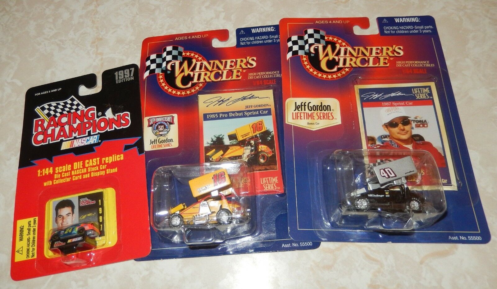 BIG Lot of Jeff Gordon Collectables NASCAR 24 Sprint Cars Cars Cars All NEW a33122
