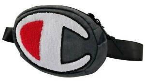 Champion-Life-Prime-Waist-Pack-Dark-Grey-White-Red-CH1056-020-Fanny-Pack