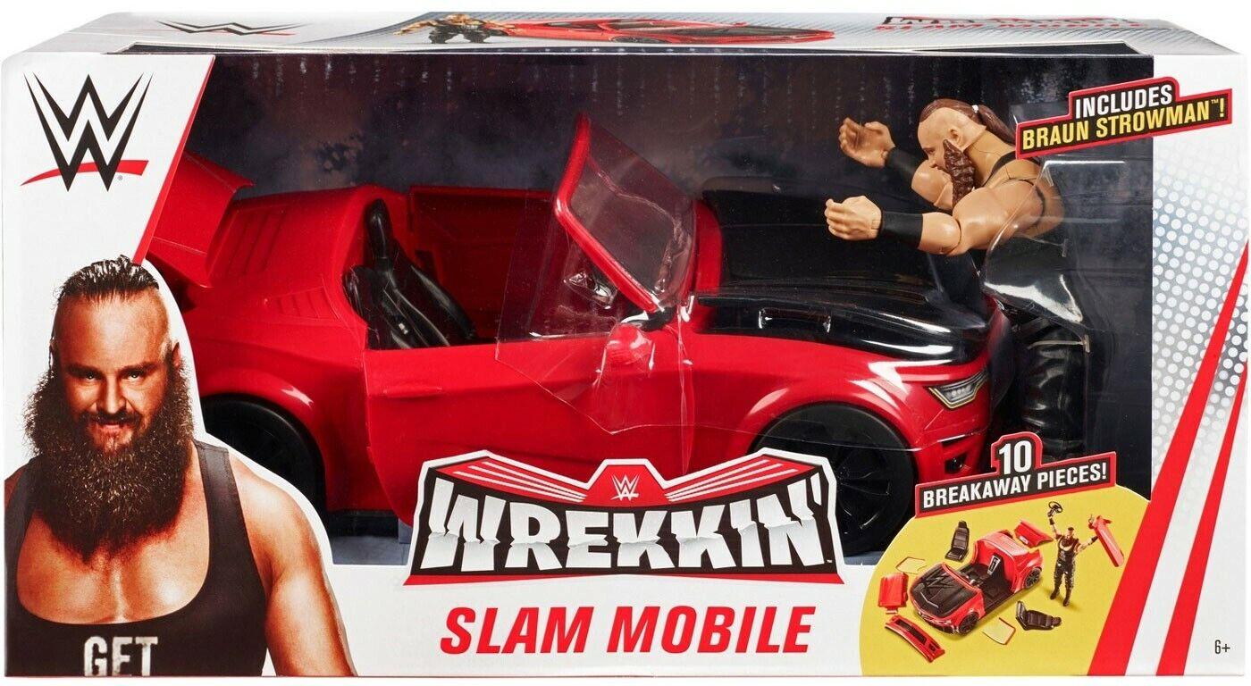 WWE Wrestling wrekkin 'Slam  mobile PLAYSET  expédition rapide et meilleur service
