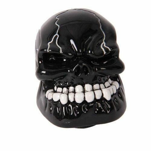 Unviersal Manual Transmission Black Gear Shift Knob Shifter Lever Resin Skull