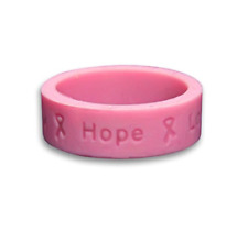 108 PINK HOPE FOR BREAST CANCER Party Favors Stickers Labels for Hershey Kiss