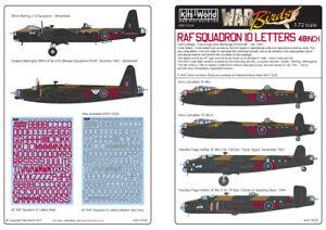 Kits-World-1-72-Raf-Squadron-Identificacion-Letras-122cm-Rojo-72026