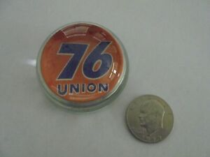 Unocal / Union 76 Dealer Glass Paperweight......Very Unique