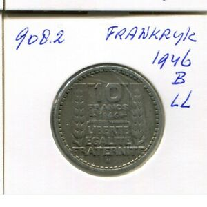 10-FRANCS-1946-B-FRANCE-French-Coin-AN414GW