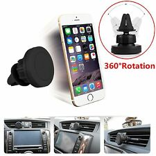 360° In Car Magnetic Air Vent Mount Holder For iPhone 7 Plus 7 6S Plus 6 5C iPod