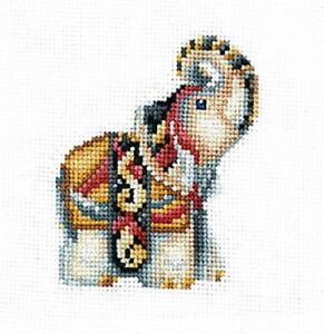 """Counted Cross Stitch Kit Make Your Own Hands C-40 /""""Figurines Duck/"""""""
