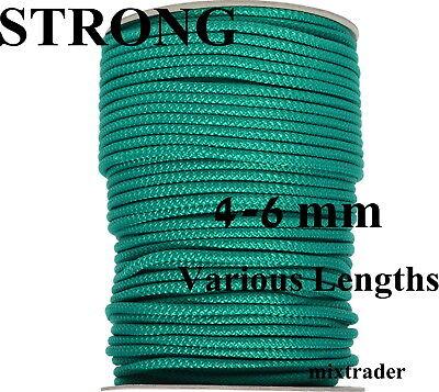 HOMEHOBBY Washing Rope Line Polypropylene 4mm Green 20 Meters