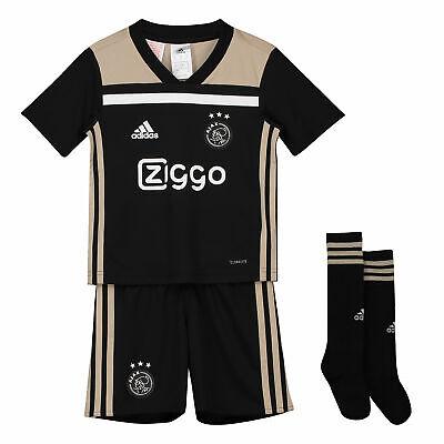 Ajax officiel Away Mini Kit 2018 19 Enfants ADIDAS Football Shirt Short Chaussettes | eBay