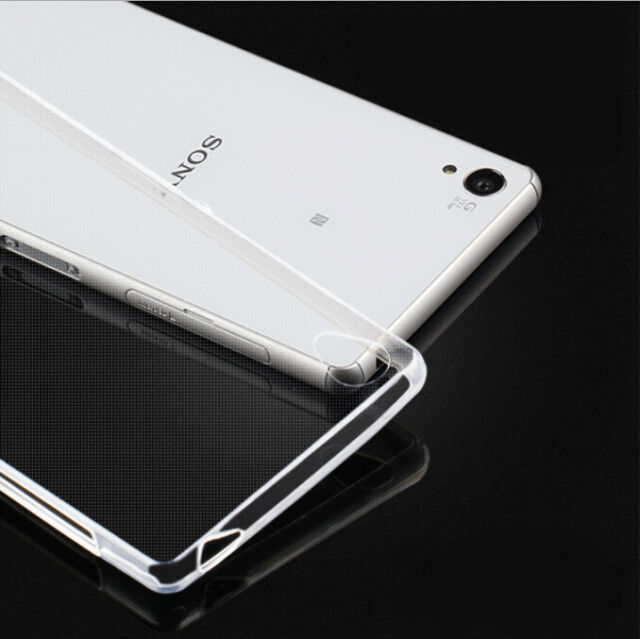 0.3MM Ultra-thin Transparent Gel Case Cover For Sony Xperia Z1 Z2 Z3 T3 E3 Z2a
