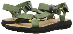 Stiefel Herrenschuhe Clarks Mens Pilton Brave Khaki Leather Sandals Uk Size 6.5 G