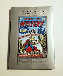 Marvel Masterworks The Mighty Thor Volume 1 Hardcover Graphic Novel Comic Book