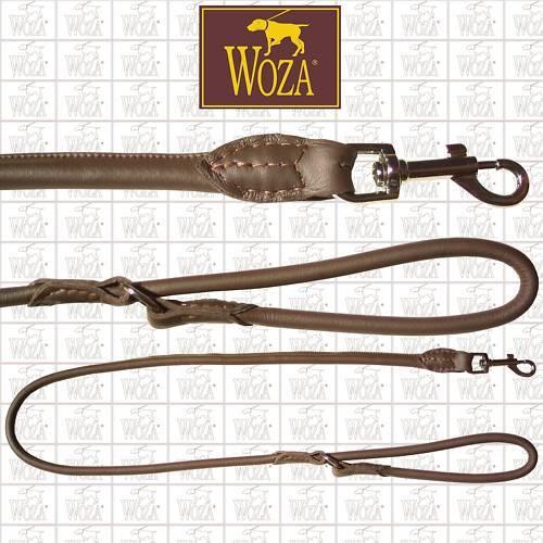 WOZA Premium Hundeleine Rundgenäht Rundgenäht Rundgenäht Handnaht Vollleder Lederleine Rindnapa SK1420  | Attraktiv Und Langlebig  ae0933