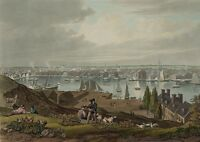 Baltimore From Federal Hill By William James Bennett 1831 Notecards