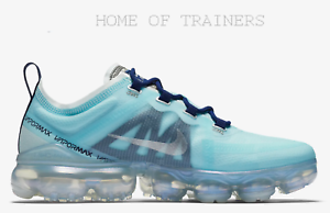 get cheap 1c167 6c7ef Details about Nike Air Vapormax 2019 Teal Tint Blue Void Spruce Fog Girls  Women's Trainers
