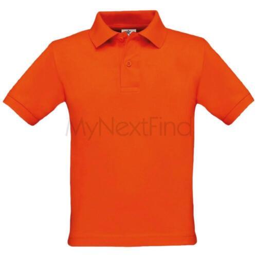 B/&c collection Garçons Filles Enfants Safran Polo Shirt