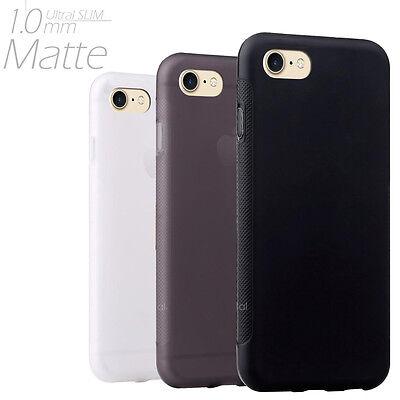 Ultra Slim Matte Gel TPU case cover -- Apple iPhone 7 & iPhone 7 Plus