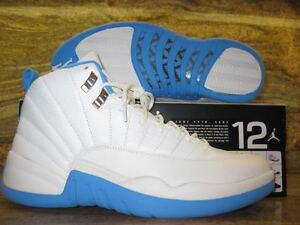 2004 Nike Air Jordan 12 XII Retro SZ 10.5 White University Blue Melo ... 6e74e8f74