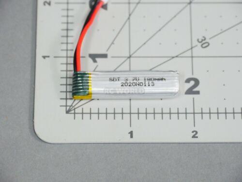 Volantex RC Airplane Micro LIPO BATTERY 3.7V 1S 180MAH Lithium Pack JST #76101