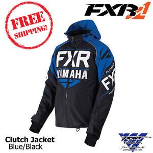 Details about Yamaha Clutch Jacket by FXR Snowmobile Jacket Sizes: MD LG XL  2X 3X SMB-18JCL-BK
