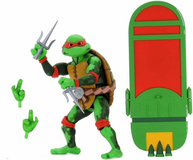"NECA Teenage Mutant Ninja Turtles: Turtles in Time 7"" Scale Raphael Figures"