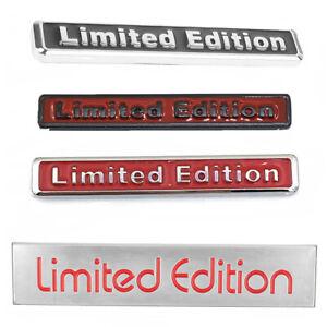 3D-Red-Limited-Edition-Logo-Emblem-Badge-Metal-Sticker-Decal-Car-Accessories-SR