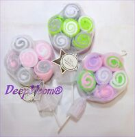 Baby Kiss Bath Set 12 Washcloths Girls Boys Unisex Lollypop Gift Set