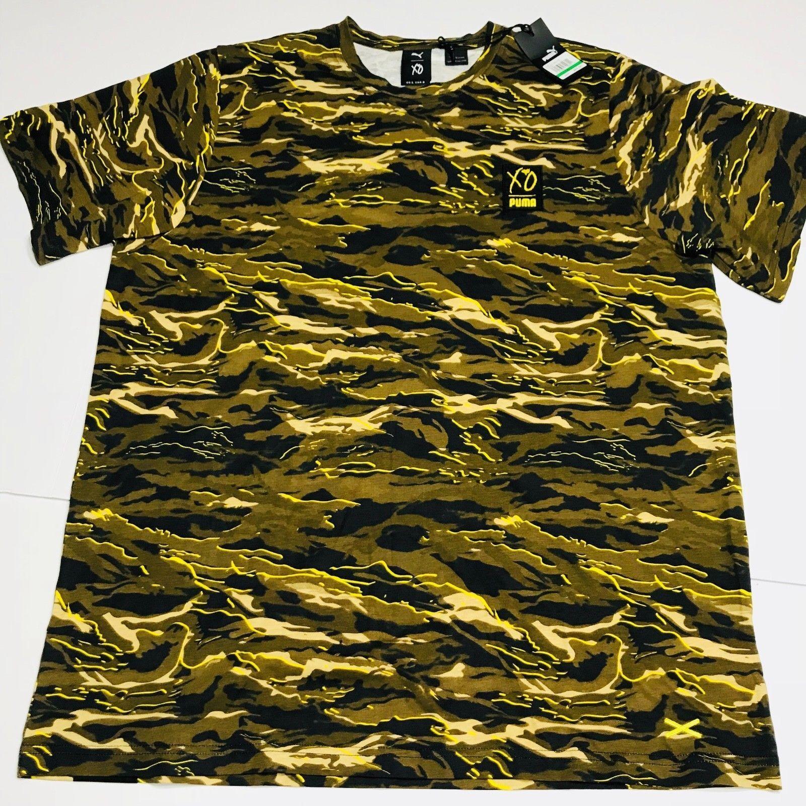 20549e846ba XO Graphic T Shirt Source · PUMA X XO The Weeknd Graphic Tee Shirt T Camo  Camouflage AOP Large