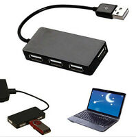 Extension Expansion Cable Adapter 4 Port Usb 2.0 Multi Hub Splitter High Speed