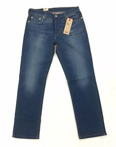 NEW Levi/'s Strauss 511 Slim Fit Stretch Dark Blue Mens Denim Jeans Lightweight