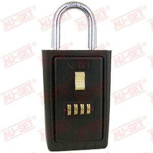 Brand New NU-SET Key Storage 4 Digit Numeric Combo Lock Box,2020-3