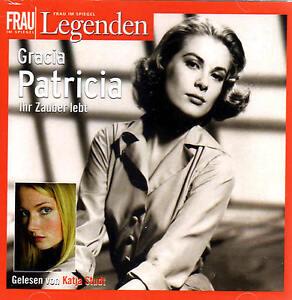 Gracia-Patricia-2-Audio-CDs-Frau-im-Spiegel-Legenden-NEU
