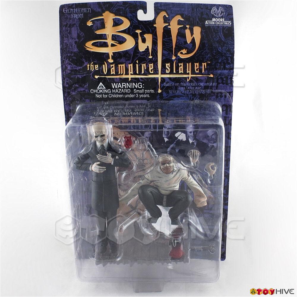 Buffy the Vampire Slayer the Gentlemen figures Hands with Heart Jar - worn box