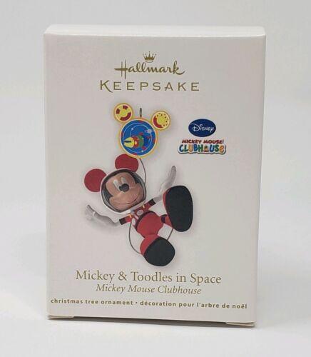 HALLMARK 2011 DISNEY MICKEY MOUSE TOODLES IN SPACE NIB MIB