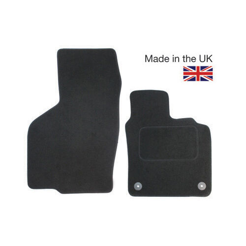 For Fiat Doblo MK2 2010-2017 Fully Tailored 2 Piece Van Mat Set 2 Clips