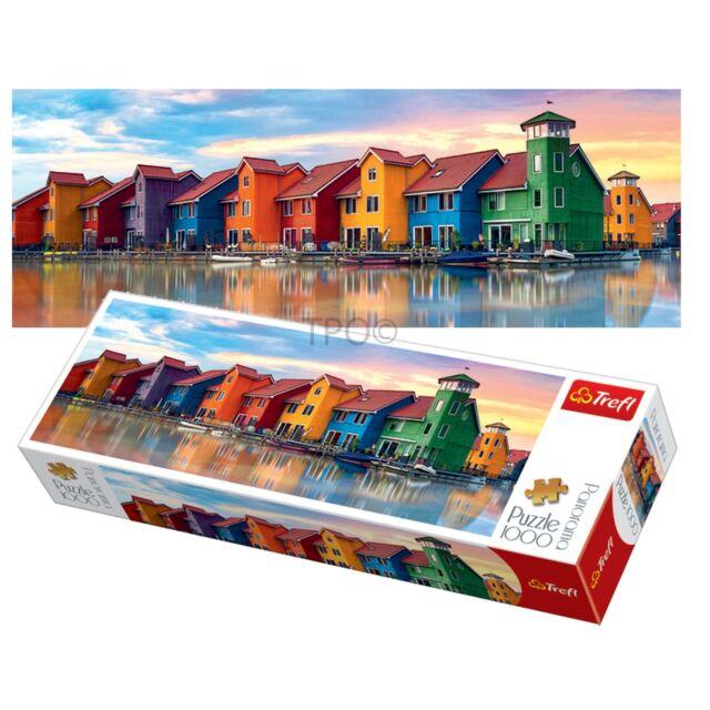 Trefl 1000 Stück Panorama Erwachsene Groningen Stadt Holland groß Fußboden