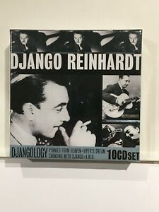 Django Reinhardt DJANGOLOGY 2005 10 CD Box Set new sealed Jazz Guitar