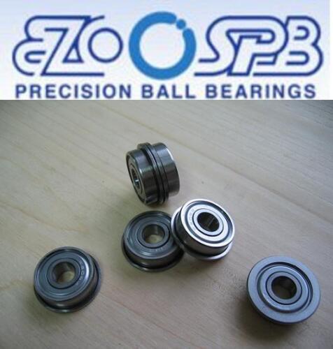 Flanschlager  MF148 ZZ  8x14x4 mm 1 EZO Premium Miniatur Kugellager mit Bund