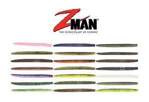 "Z-MAN 7/"" FLOATING WORMZ 2 pk #FLOWORM7-46PK8 GREEN PUMPKIN 8 cnt//16 tl"