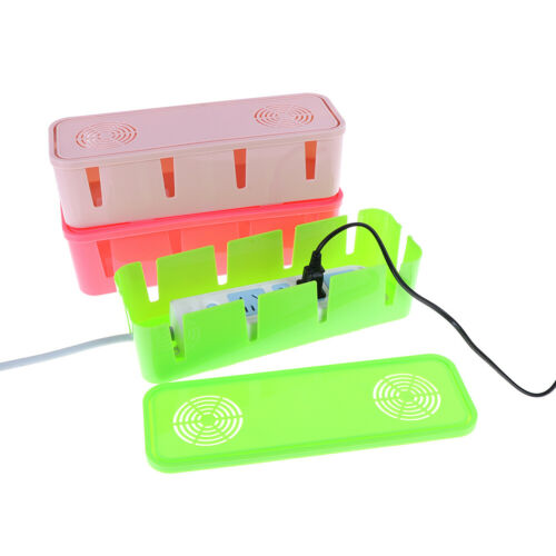 Table Cable Power Plug Storage Box Case Cord Wire Socket Safety Tidy OrganiserDP