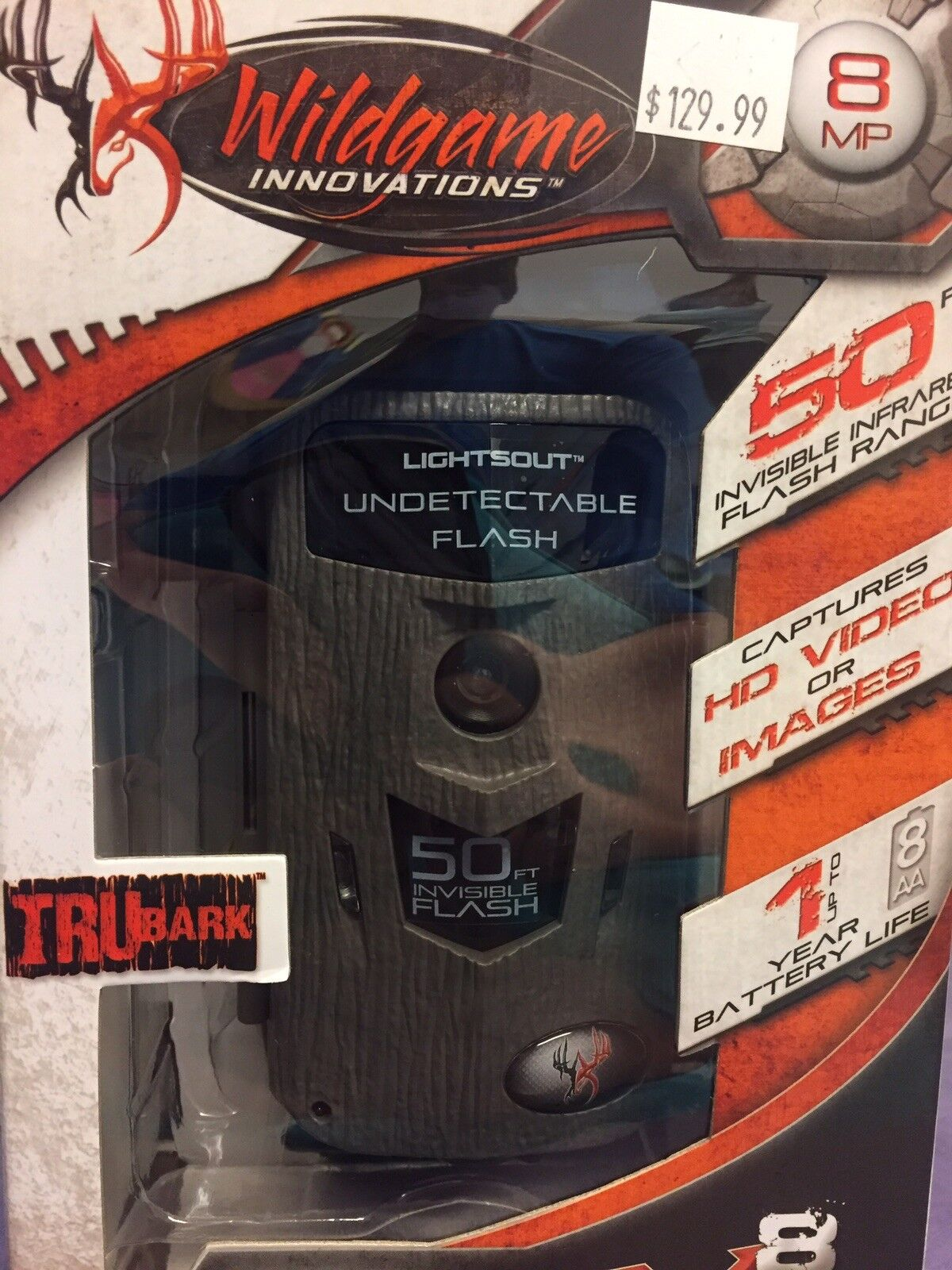 New Wildgame Innovations MICRO CRUSH X8 Lightsout Infrared Trail Security Camera