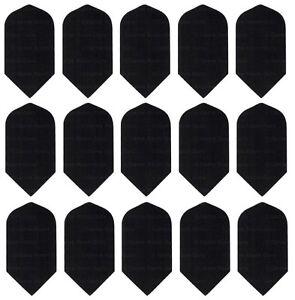 NYLON FABRIC Darts Flights Black Standard