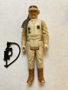 Vintage Star Wars ESB Hoth Rebel Commander 1980 Kenner Complete FREE SHIP