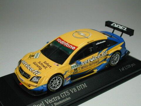 è scontato Minichamps 1 43 Opel Opel Opel Vectra GTS V8 OPC EUrossoEAM DTM 2004  16 Limited from Japan  marca