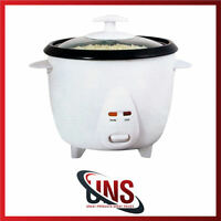 Rice Cooker 0.8ltr Non Stick Automatic Electric Pot Warmer Warm Cook  NEW