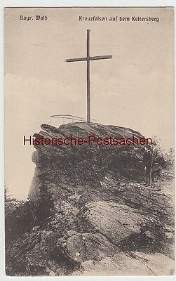 (98934) Ak Kreuzfelsen Auf Dem Keitersberg, Bayr. Wald, Vor 1945 Auf Dem Internationalen Markt Hohes Ansehen GenießEn