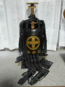 JAPANESE-VINTAGE-ARMOR-COLLECTIBLE-ART-DECOR-NOT-REPLICA-MADE-YEAR-UNKNOWN-F-S