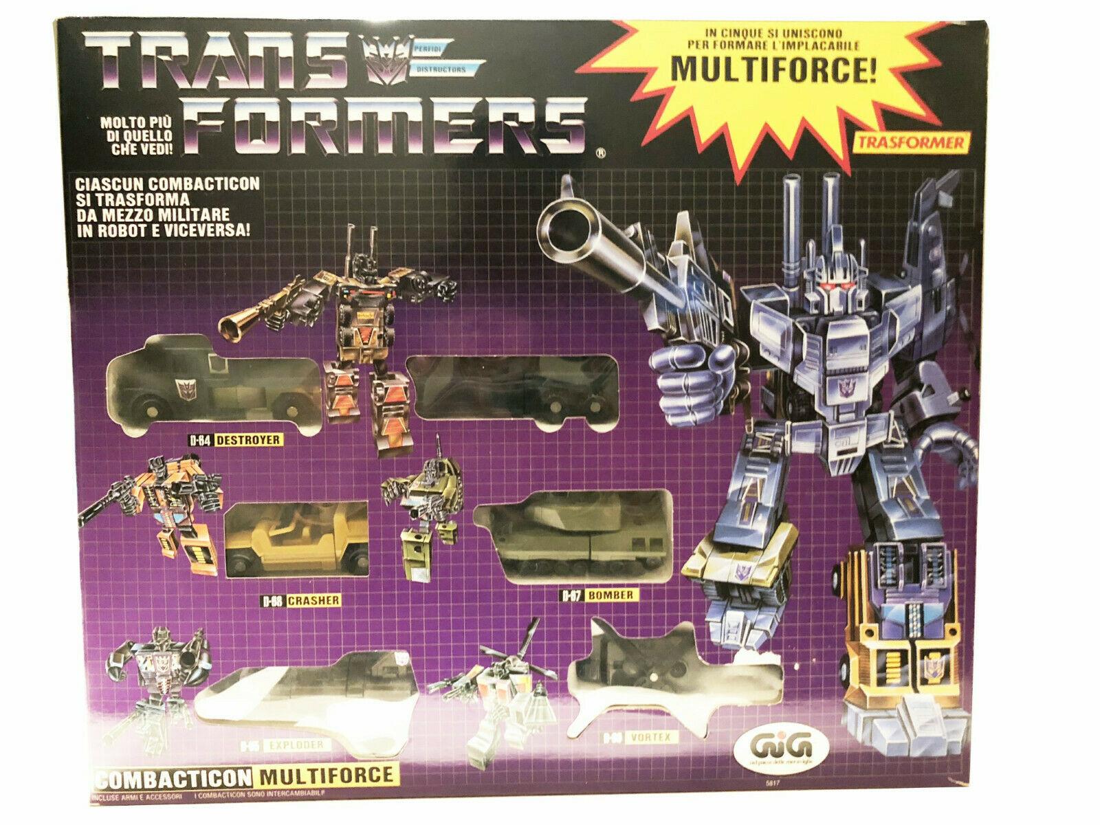 Transformers G1 Baltimore. Nuevo regalo, edición metálica.