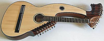 21 String Harp Guitar - Sullivan/Elliot Style 185