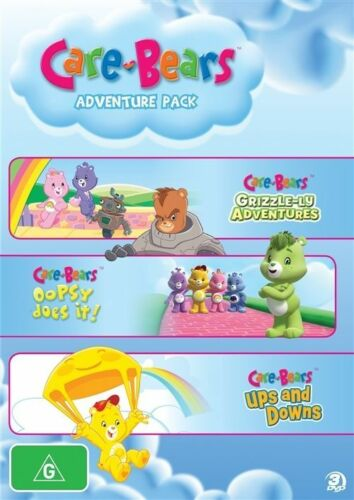 1 of 1 - Care Bears - Adventure Pack Grizzle-Ly Adventures : Oopsy Does It! / Ups And Dow